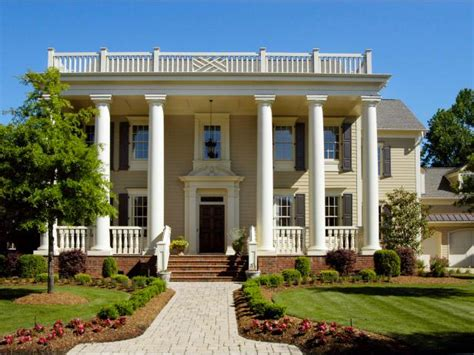 modern colonial house plans revival architecture hgtv
