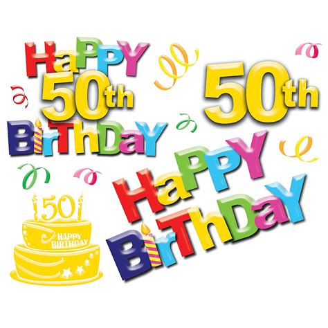 50th Birthday Clipart Funny  Best Happy Birthday Wishes