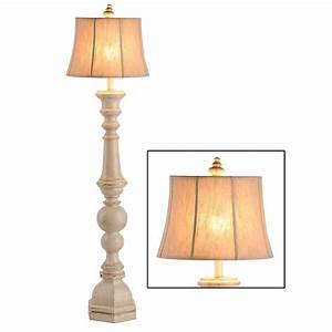 mackinaw cream floor lamp kirklands With kirklands white floor lamp