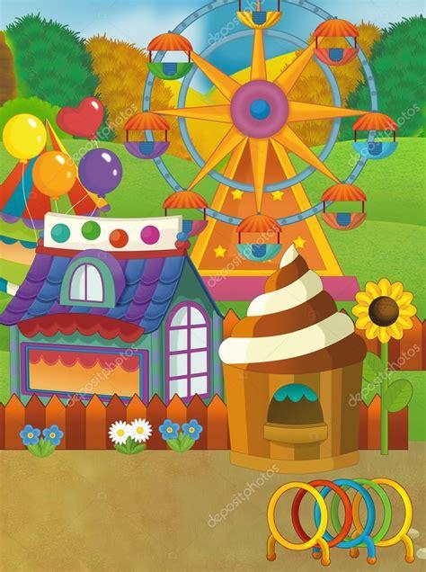 Aprende todo lo que quieras sobre dibujos de dibujos animados con la categoría de wikihow. Dibujos: la feria   Escena de Feria de dibujos animados — Foto de stock © illustrator_hft #112712658