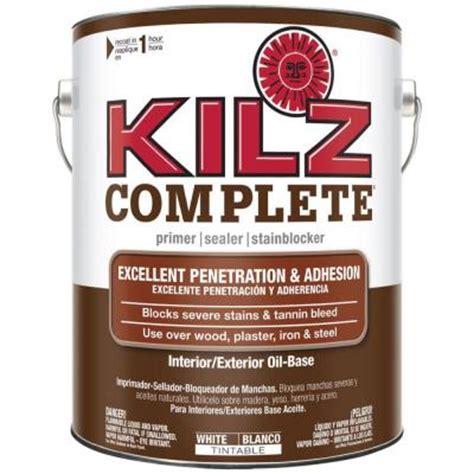 kilz 1 gal white based interior exterior primer