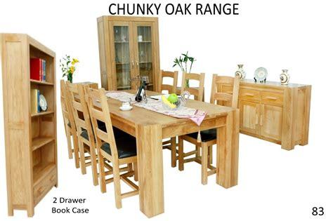 Chunky Living Room Furniture : Chunky Oak Dining Range