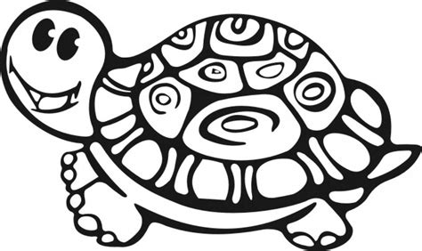 printable turtle coloring pages  kids animal place