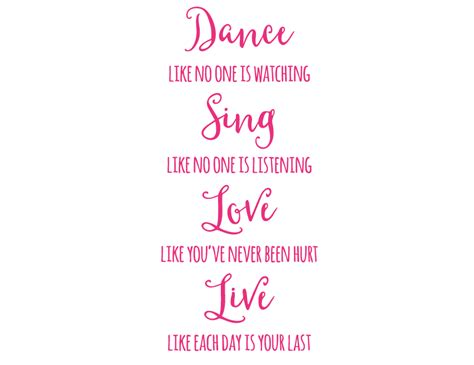 bright star kids wall art writing quotes home decor dance sing love live ebay