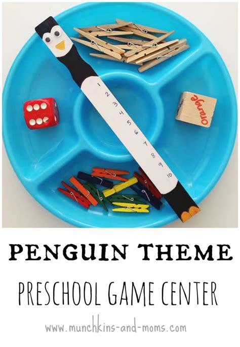 penguin theme preschool munchkins and 135   penguin game center 708x1024