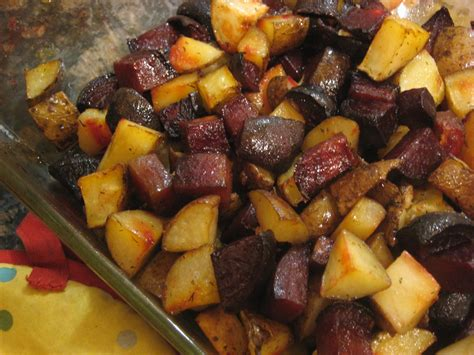 Dill Roasted Beets And Potatoes  Mindful Plate