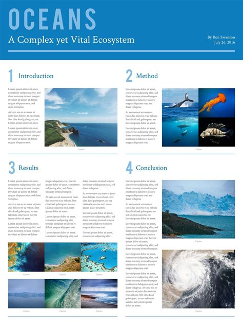 academic poster template powerpoint  templates data