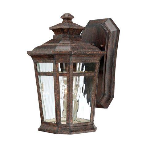 outdoor ls home depot home decorators collection waterton 1 light dark ridge