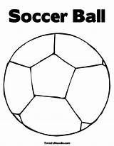 Ball Coloring Soccer Printable Sports Template Pages Balls Barbie Baby Popular sketch template