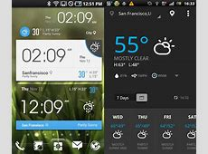 5 Awesome Weather Widgets For Your Android Home Screen