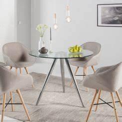 Designer Glastische Esszimmer : esstisch glas rund ~ Sanjose-hotels-ca.com Haus und Dekorationen