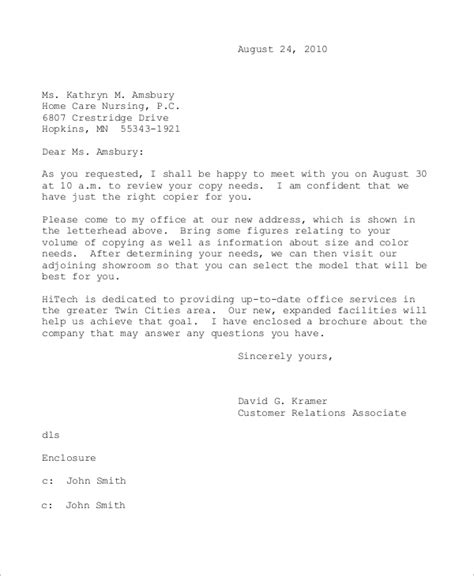 business letter   samples  word