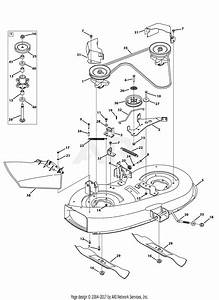 Mtd 13ac76lf055  2013  Parts Diagram For Mower Deck