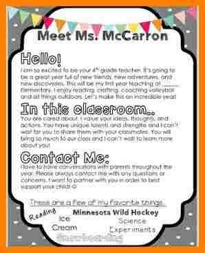 student teacher introduction letter sample introduction letter