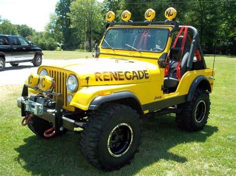 cj jeep yellow sell new 73 cj5 jeep cj in tallmadge ohio united states