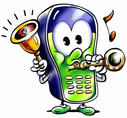 Phone Cell Monday Ringing Message Clip Clipart