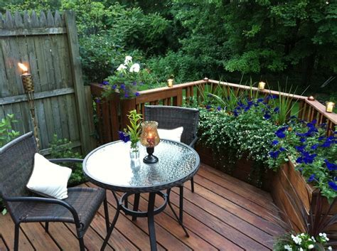 small deck ideas images  pinterest outdoor