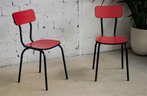 chaise de bistrot vintage chaises cuisine vintage café bistrot formica