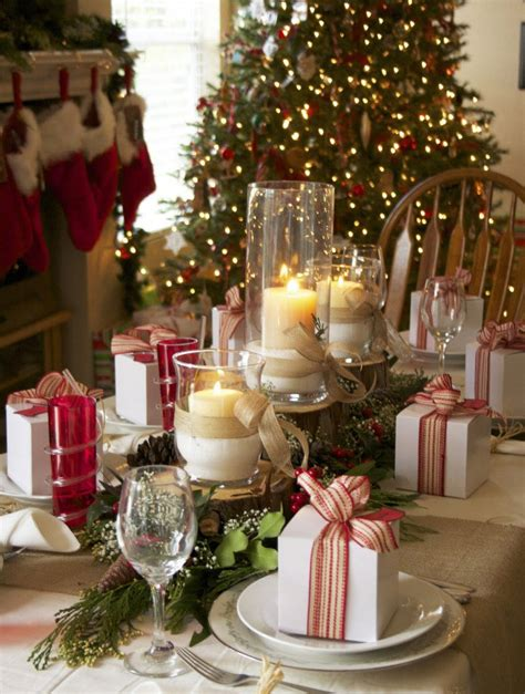 decorating ideas   christmas table love  blog
