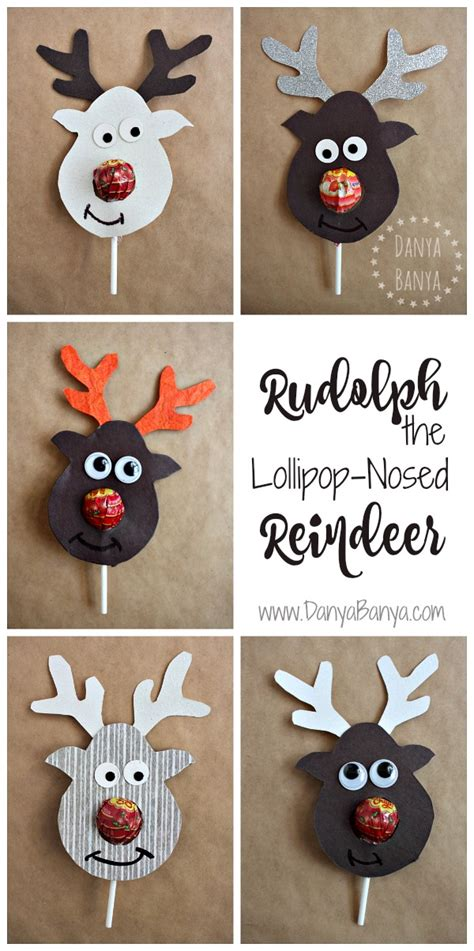 christmas gifts for classmates rudolph the lollipop nosed reindeer danya banya