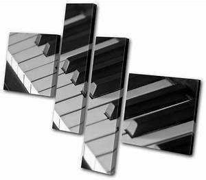 Musical Piano INSTRUMENTS MULTI CANVAS WALL ART Picture ...