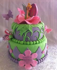 Tinkerbell Cake - CakeCentral com
