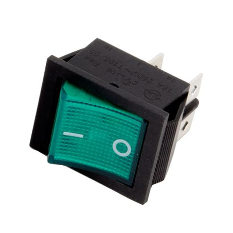 on off light switch avantco 17810364 green replacement on off and light