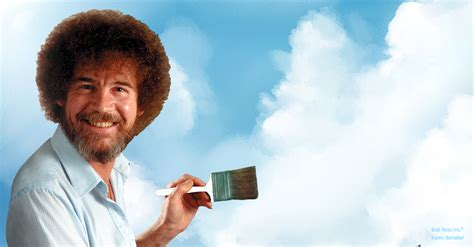 Painting Happy Little Clouds