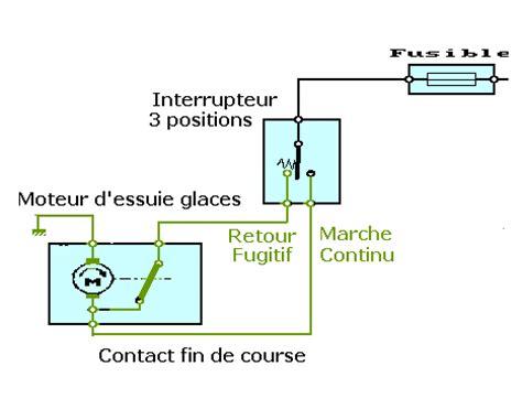 schema electrique essuie glace