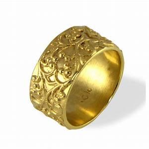 filigree wedding band vintage style ring wide wedding With antique wedding band rings