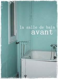 Relooking Salle De Bain Avant Apres : peinture carrelage salle de bain avant apres solutions ~ Zukunftsfamilie.com Idées de Décoration