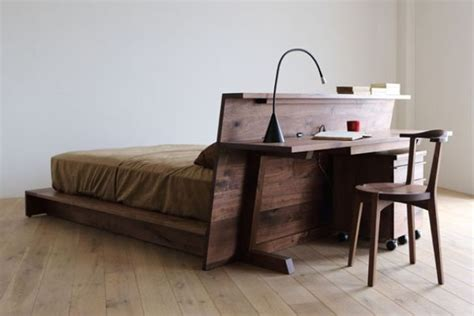 bed with desk attached bed desk combos save space and add interest to small rooms