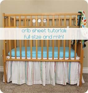 Crib Sheet Tutorial - Peek-a-Boo Pages
