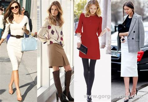 Woman Business Casual Dress