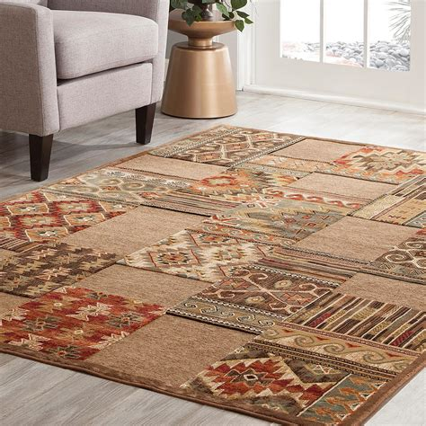 sams area rugs sams international napa cimmaron brown 7 ft 10 in x 11