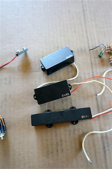 Emg Active Bass Pickups Wiring Guitar Set
