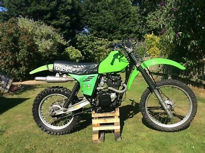 Kawasaki Klx 2501979 by Kawasaki Klx 250 1979 80 Mx Vintage Shock Project