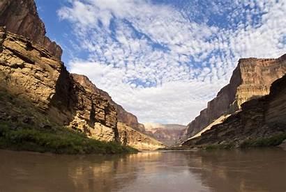 Canyon Colorado Grand River Arizona Landscape Mountain