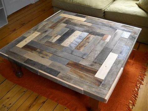 diy antique wood pallet coffee table ideas diy  crafts