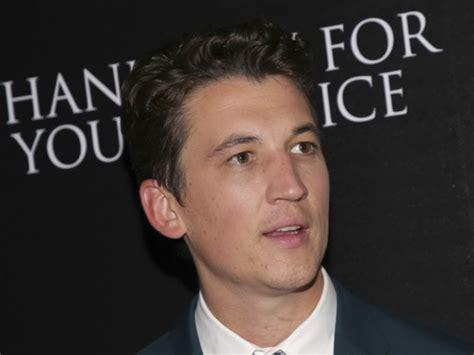 Miles teller est un acteur, producteur américain. Miles Teller to play Goose's son in 'Top Gun' sequel ...