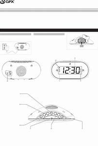 Gpx Clock Radio C253b User Guide