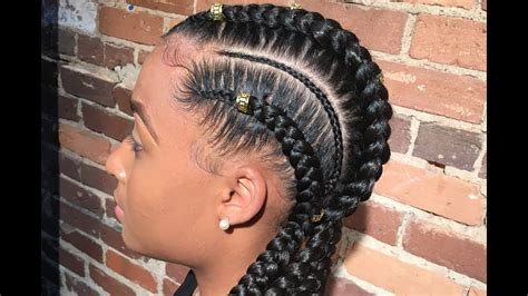 How To Do Feed-in Braids