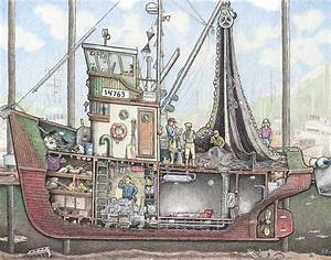 Peek Below Ship Decks In Illustrations Inspired By My Time