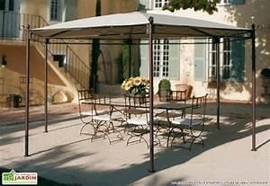 Abri De Jardin En Toile : attrayant abri de jardin en bois 6 tonnelle fer forg233 ~ Dailycaller-alerts.com Idées de Décoration