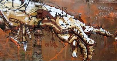 Graffiti Hands Anime Desktop Abstract Mural Street