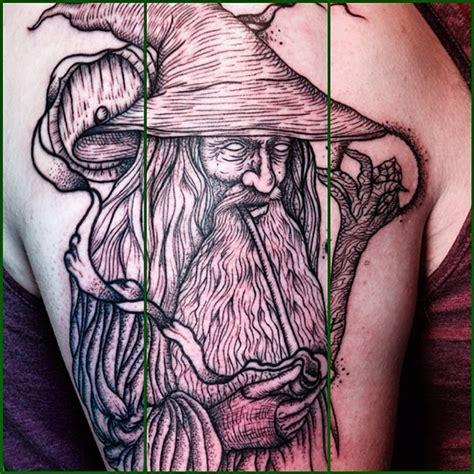 amazing gandalf tattoos page  nsf