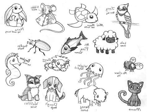 Easy Cute Animal Drawings Cute Baby Animal Drawing ...