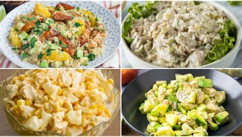 Krēmīgi vistas salāti - sātīgi un gardi: 12 receptes, ko ...