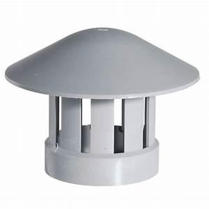 Chapeau De Ventilation : chapeau de ventilation pvc gris tous les ~ Melissatoandfro.com Idées de Décoration