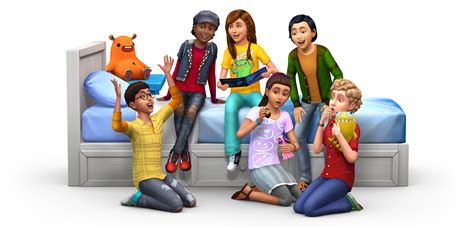 sims  kids room stuff official render box art icon